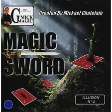 Magic Sword Card (Blue)by Mickael Chatelain - Trick - Magic Tricks