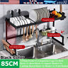 33.5'' Stainless Steel Kitchen Over Sink Dish Drying Rack Cutlery Drainer Holder