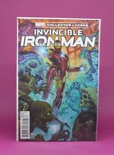 INVINCIBLE IRON MAN #1 EXCLUSIVE COLLECTORS CORPS POP FUNKO VARIANT COVER MARVEL