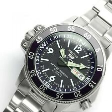 SEIKO 5 SPORTS SKZ209 SKZ209J Automatic Blue 200m Men's Watch Made in Japan