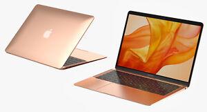 "Apple Macbook Air 13.3"" 8 GB RAM 256GB SSD 2020 M1 Chip Gold New Sealed A2337"