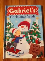 "Christmas Wish Book ""Gabriel"" - Perfect Stocking Stuffer"