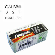 10 batterie ENERGIZER 364-363 SR621SW SR621W SR60 x orologi 1,55V 0%mercury pile