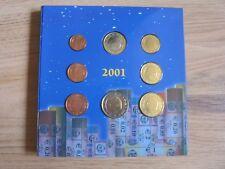 BELGIEN KMS 2001 - 1 Cent bis 2 Euro