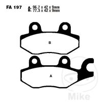 KYMCO Grand Dink 50 (2T) 04-15 EBC Scooter Sintered Front Brake Pads SFA197HH