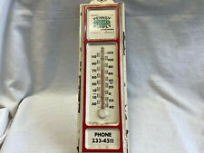 Vtg Pennsy Supply Building Materials Harrisburg, Pa Wall Thermometer
