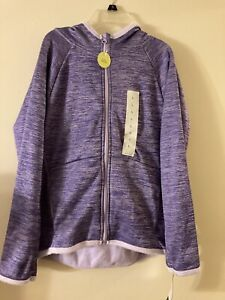 Champion Girls Purple Pullover Hoodie Sweater Jacket Size L 10/12 MSRP 19.99