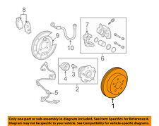 TOYOTA OEM Rear Brake-Rotor 4243142060