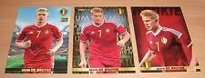 PANINI CARREFOUR LOT 22 45 63/180 - BELGIAN RED DEVILS TOUS ENSEMBLE - DE BRUYNE