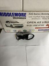 VW GOLF MK7 Power Fold Wing Mirror D/S Blind Spot New Genuine 5G2857502CB