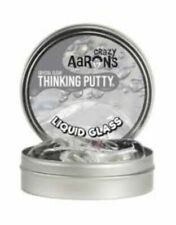 Liquid Glass Thinking Putty- Transparent putty turns from clear to cloudy and ba