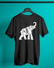 Trump 2020 elephant - Black T-Shirt