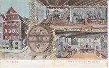 Ansichtskarte Hamburg  datt oole grote Fatt  Gaststätte  1910