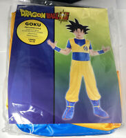 Party City Dragon Ball Super Goku Costume Video Game Saiyan Manga