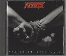 ACCEPT / OBJECTION OVERRULED - CD