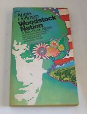 Woodstock Nation . Abbie Hoffman  . 1971 . libro in inglese