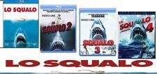Blu Ray Lo Squalo 1-2-3-4 (4 Film Blu Ray) .....NUOVO