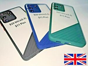 Samsung S20,S20 Plus,S20 Ultra 5G Thin Case Shockproof Camera Protection