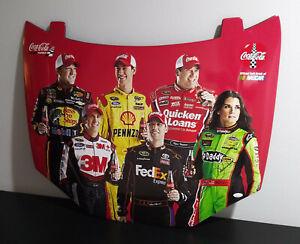 Rare Danica Patrick 2013 Coca Cola Racing Family 1/2 Scale Hood Signed JSA