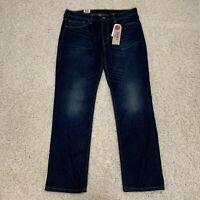 Levi's Men's 511 Slim Fit Jeans Size 36 x 30 NWT Medium Blue Wash Stretch Denim