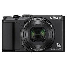 Nikon Coolpix A900 20MP 4K Digital Camera 35x Optical Zoom Black WiFi/ NFC