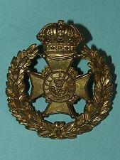 RARE VICTORIAN RIFLE BRIGADE MILITIA GLENGARRY BADGE - 100% ORIGINAL!!!
