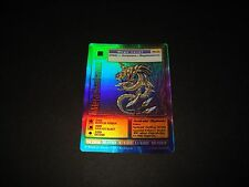 BANDAI DIGIMON HOLO / FOIL CARD BO-35 METALSEADRAMON-GOOD CONDITION