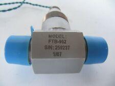 New Omega Ball Bearing Liquid Turbine Flow Meter Ftb 952