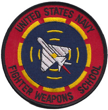 Fighter Weapons School United States Navy USN Embroidered Patch