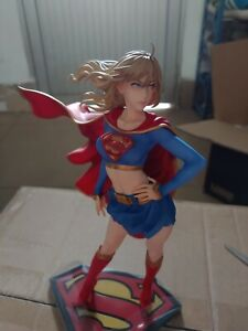 Kotobukiya DC Comics Bishoujo Statue Supergirl Returns PVC Figure Toy New Loose