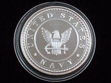 1 oz Silver Round - .999 silver * U. S. Navy * (S-407)