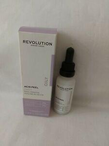 Revolution Acid Peel OILY Skin 30ml DAILY Peel Vegan.