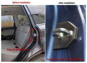 For Subaru Forester XV Outback ABS Car Door Lock Rust Proof Protector Cover Trim
