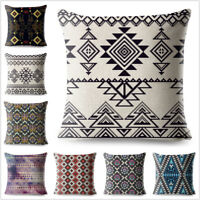 Aztec Geometric Patterns Pillow Case Cushion Cover Pillowcases Home Decoration