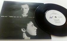 "Go West The King Is Dead 7"" vinyl single record UK GOW6 CHRYSALIS 1987"
