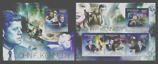 CENTRAL AFRICA 2012 SPACE KENNEDY FILMS MONROE SET OF 2 SHEETS MNH