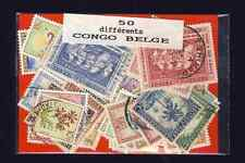 Congo Belge - Belgian Congo 50 timbres différents