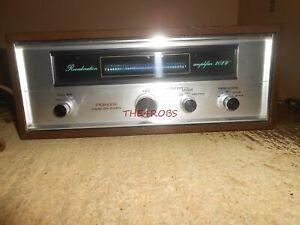 Pioneer SR 202W Reverberation Amplifier Working