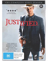 Justified : Season 1 (DVD, 3-Disc Set) NEW