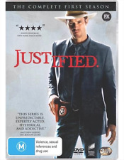 Justified : Season 1 (DVD, 3-Disc Set) NEW