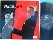 Stan Kenton ORIG OZ LP Kenton in Hi-Fi NM '56 Capitol W724 Jazz Big Band