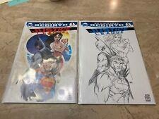 Justice League Rebirth #1 / Aspen / Michael Turner Color & Sketch Variant NM