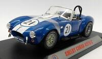 CMR 1/18 scale Diecast - CMR115 Shelby Cobra 427 S/C Racing #21 Blue
