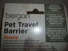 "New listing Nib Bergan Pet Car Travel Barrier Black 19.00"" x 0.3"" x 22"" Ber-88115"