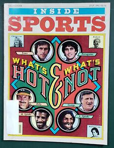 Inside Sports Magazine 1982 Jul Top 10 Tennis Matches, Greg Brown, S Dalkowski