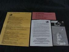 Istruzioni uso certificato di garanzia La Pavoni professional e europiccola 1997