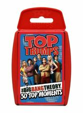 Big Bang Theory Top Trumps Card Game