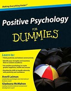 Positive Psychology for Dummies-Averil Leimon