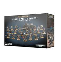 Chaos Space Marines Vengeance Warband Battleforce Warhammer 40K NIB