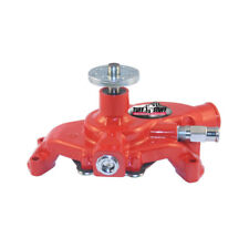 Tuff Stuff Water Pump 1354NCRED; Mechanical Red Cast Iron for Chevy 262-400 SBC